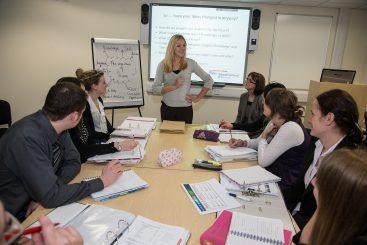 teacher training session