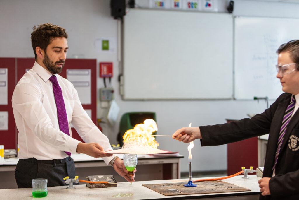 new trainee teacher in science